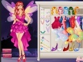 Ігра Beautiful Fairy Dress Up онлайн - ігри онлайн