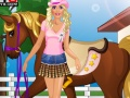 Ігра Barbie goes Horse Riding онлайн - ігри онлайн