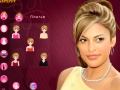 Ігра Eva Mendes Make-up онлайн - ігри онлайн