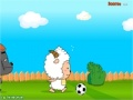 Ігра Lazy Goat and Big Big Wolf Soccer War онлайн - ігри онлайн
