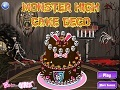Ігра Monster High Cake  онлайн - ігри онлайн